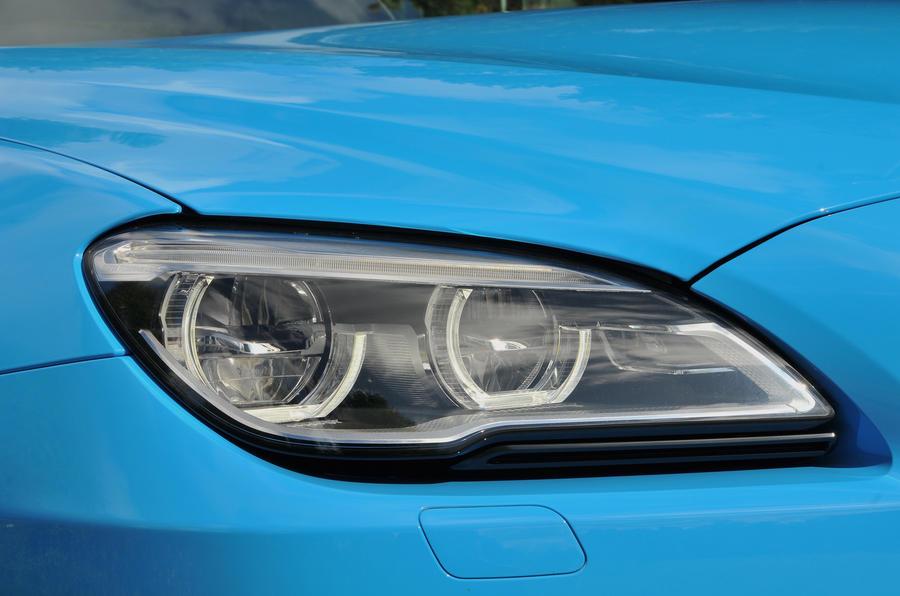 BMW M6 LED headlights