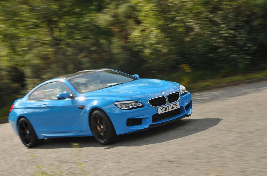 4 star BMW M6