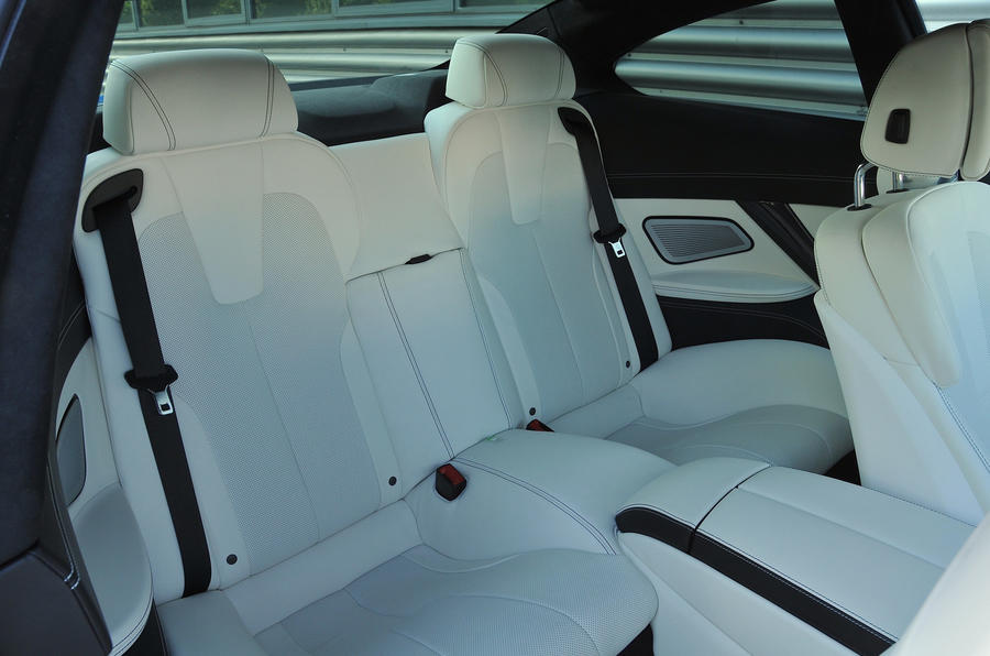 BMW M6 rear seats