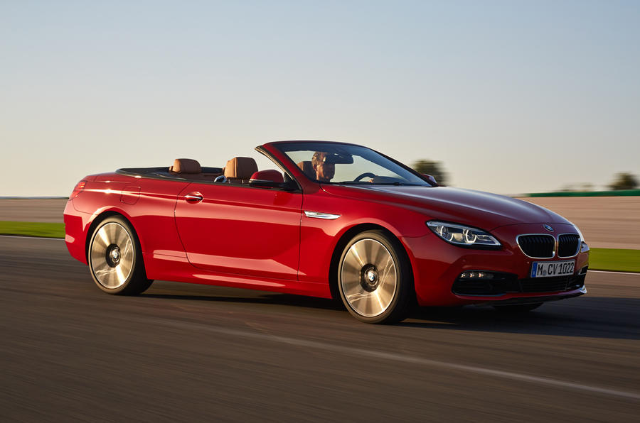 Facelifted BMW 6 series and M6 revealed
