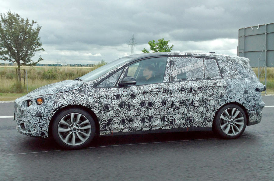 Seven-seat BMW 2-series Active Tourer spotted