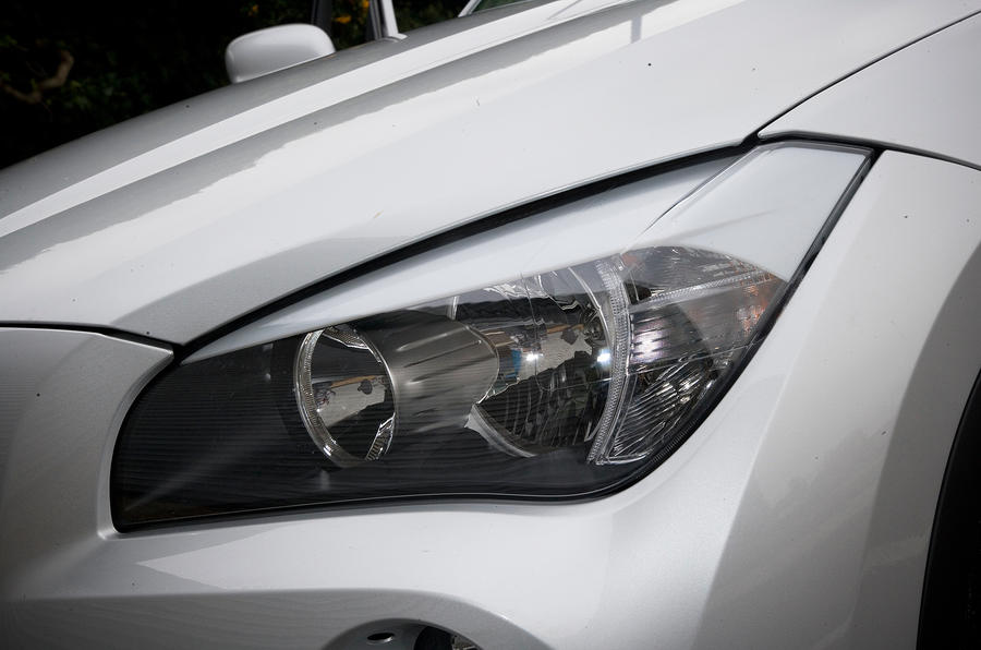 BMW X1 headlight