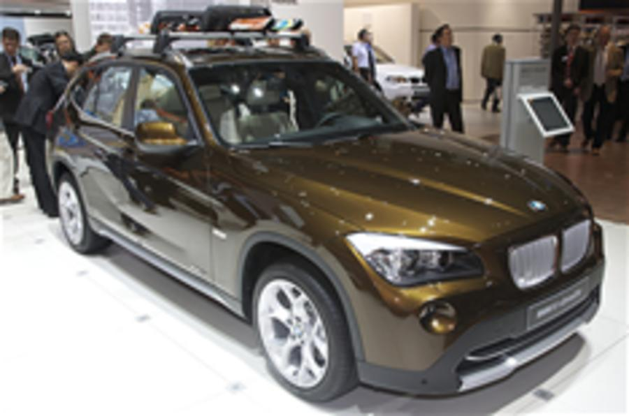 BMW X1: new high-res pictures