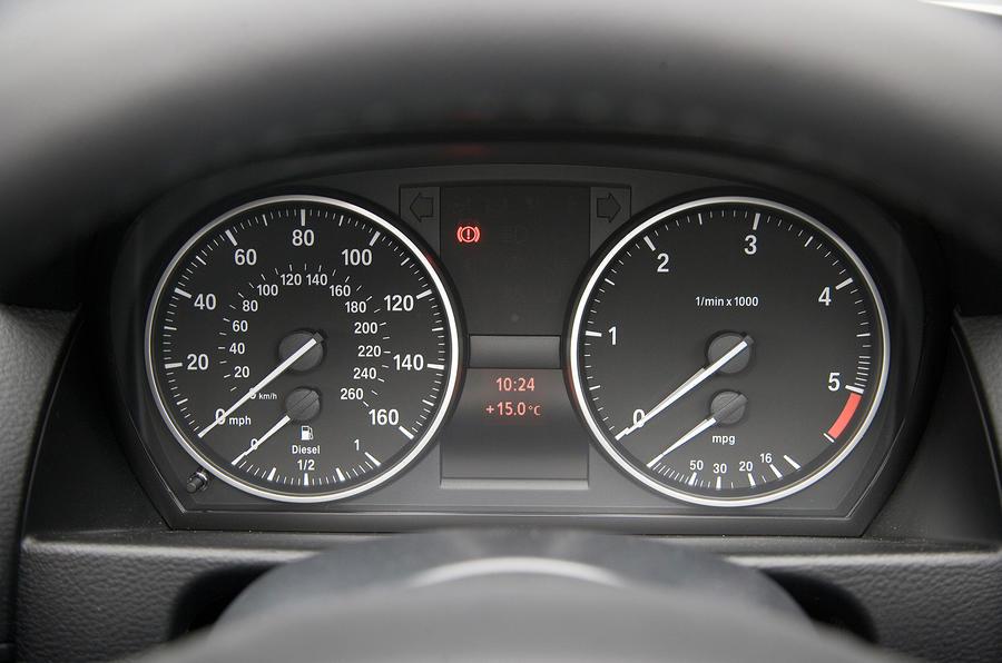 BMW X1 instrument cluster