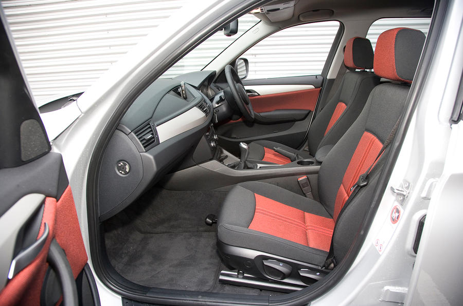 BMW X1 front seats