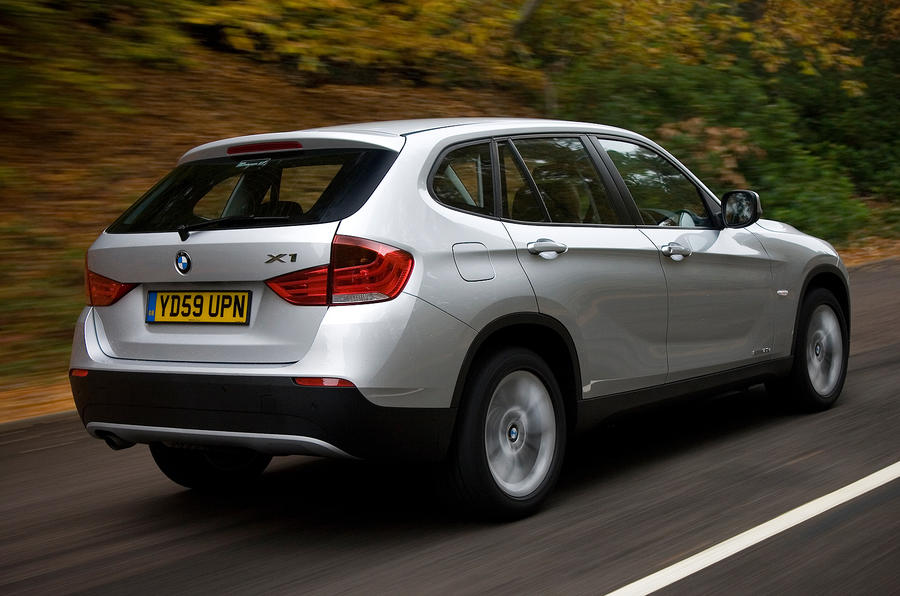 BMW X1 rear quarter