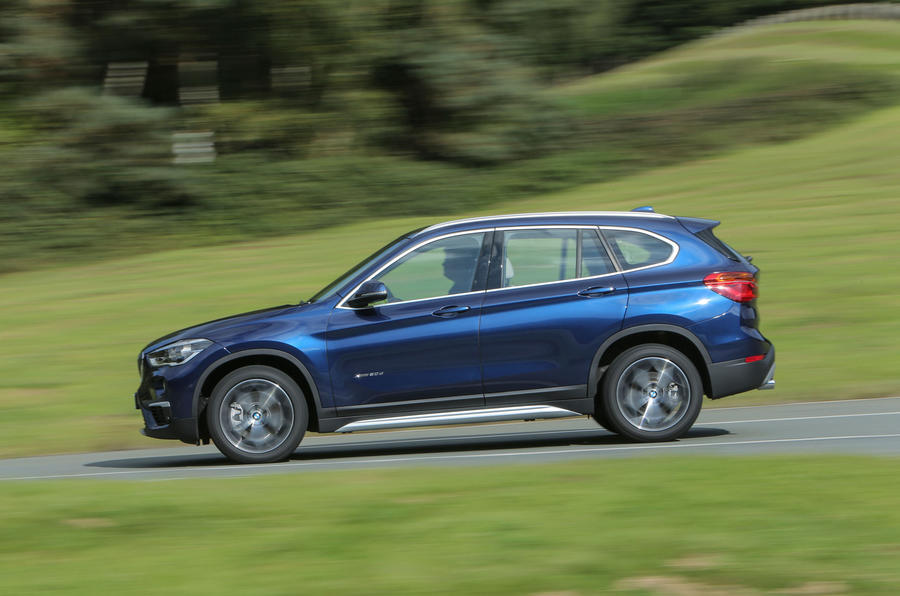 The BMW X1's diesel keeps spinning long after the rivals have thrown in the towel