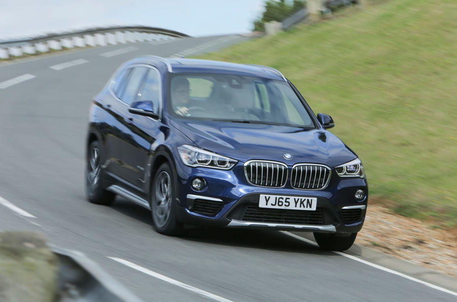 The BMW X1 has good body control...