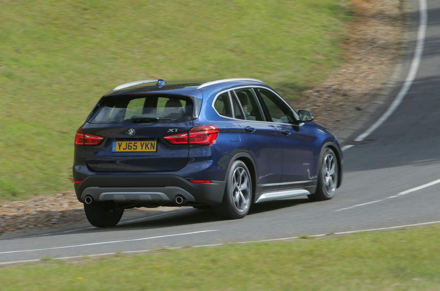 ...but the BMW X1 has a firm ride as a trade off