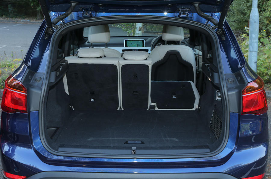 The flexibility of the rear seats on the second-gen BMW X1
