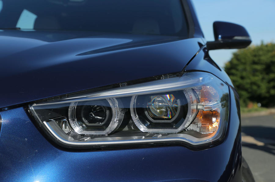 All BMW X1s in xLine trim are fitted with BMW LED headlights