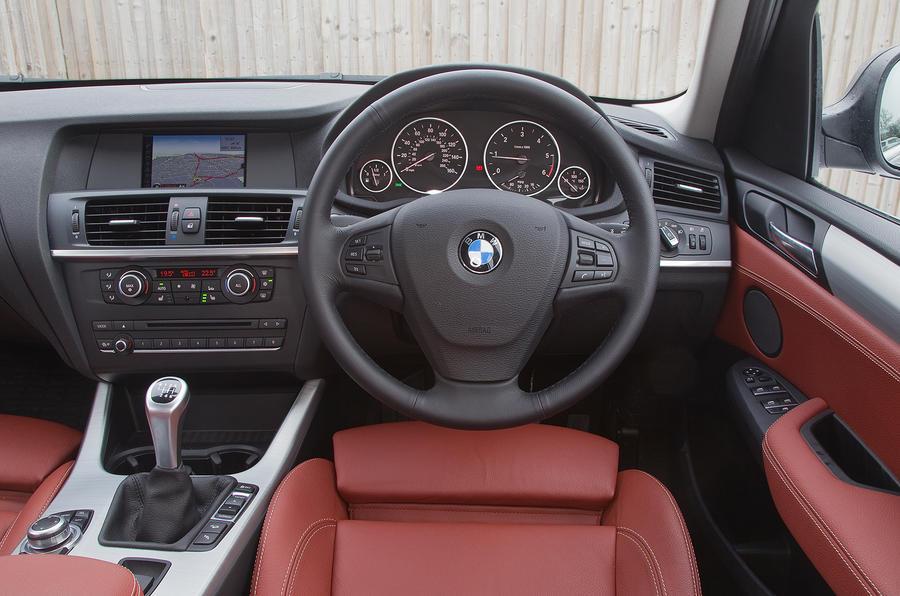 BMW X3 interior