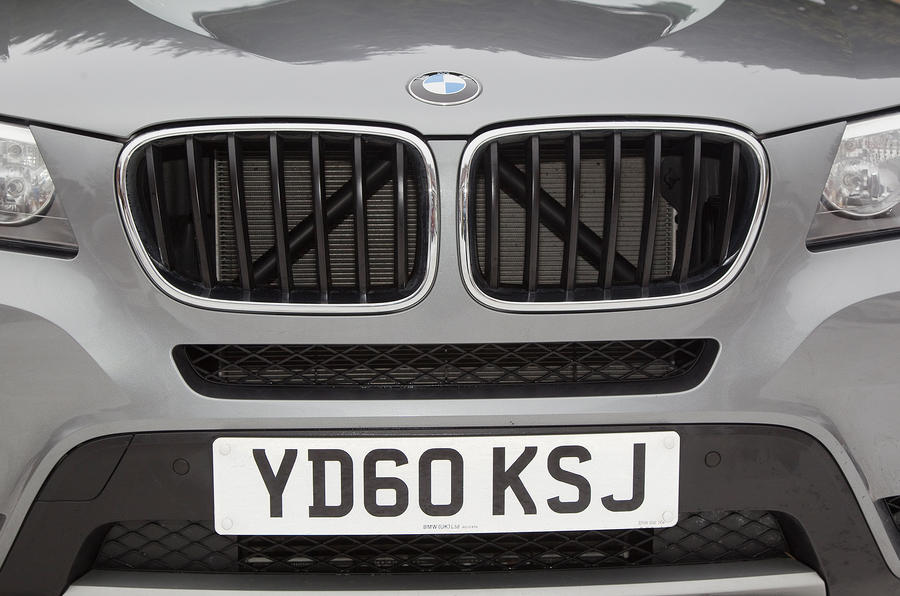 BMW X3 front grille