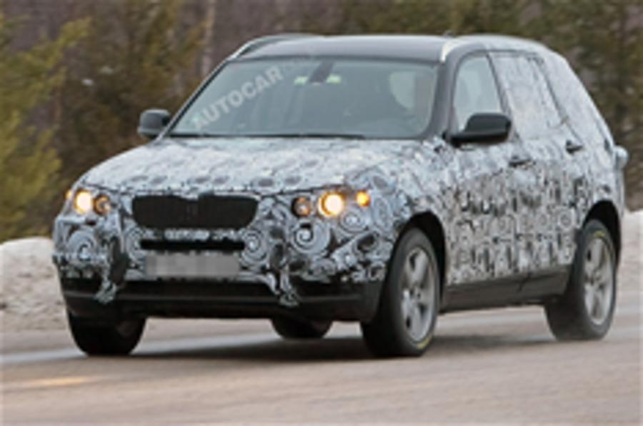 BMW X3 spied in winter testing