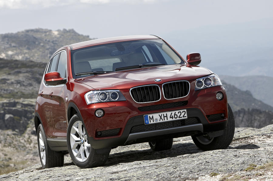 Paris motor show: BMW X3