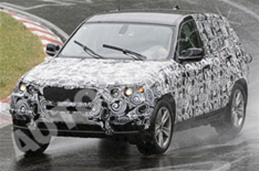 Spied: BMW X3 at the 'Ring