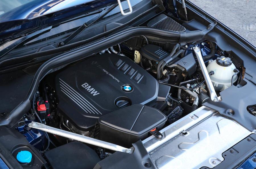 2.0-litre BMW X3 diesel engine
