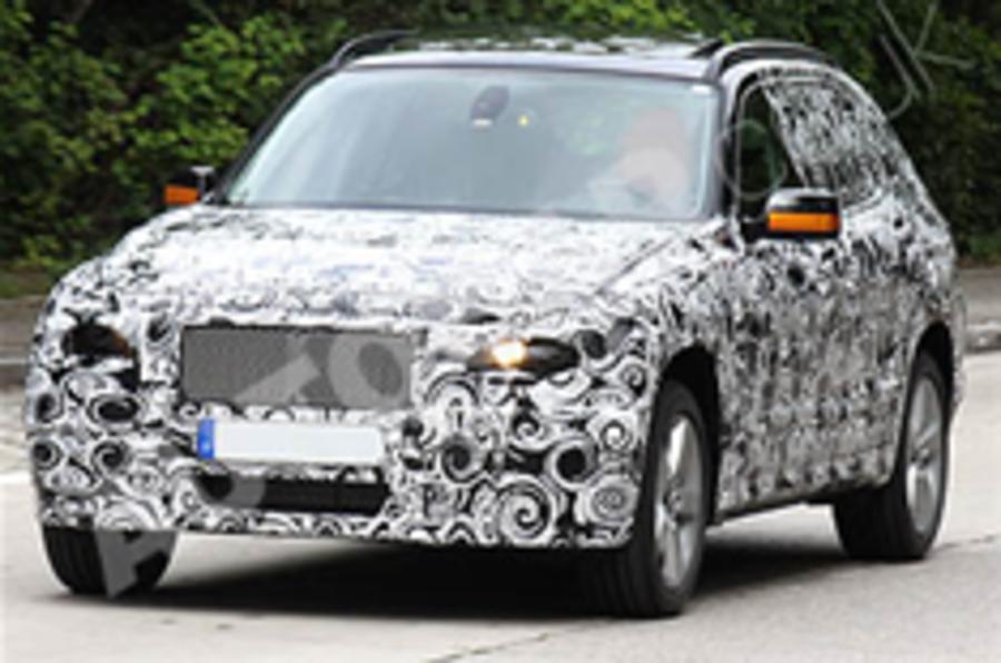 Spied: BMW X3