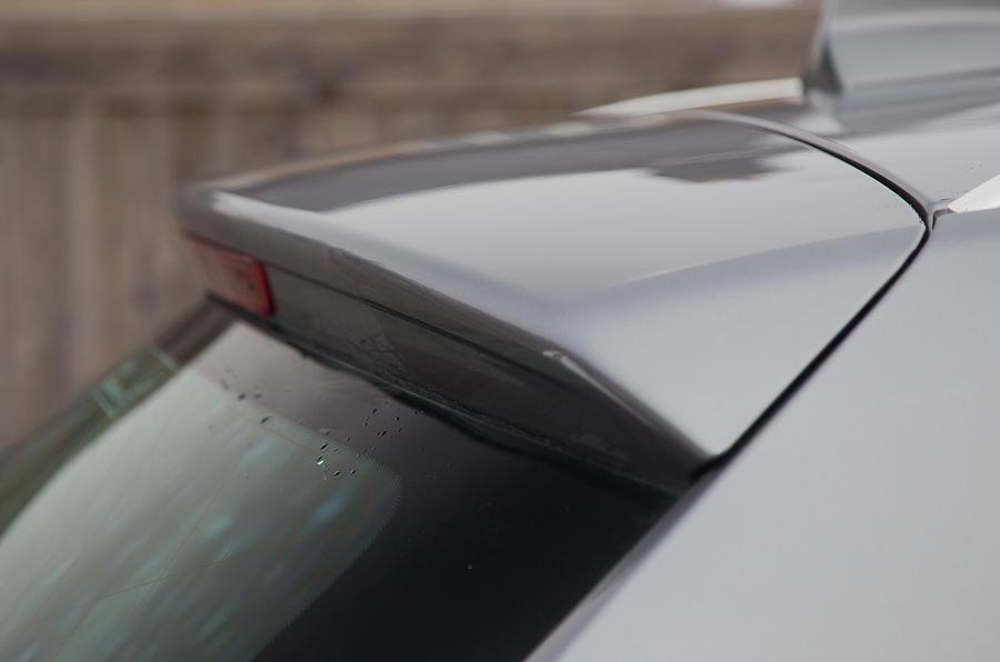 BMW X3 roof spoiler
