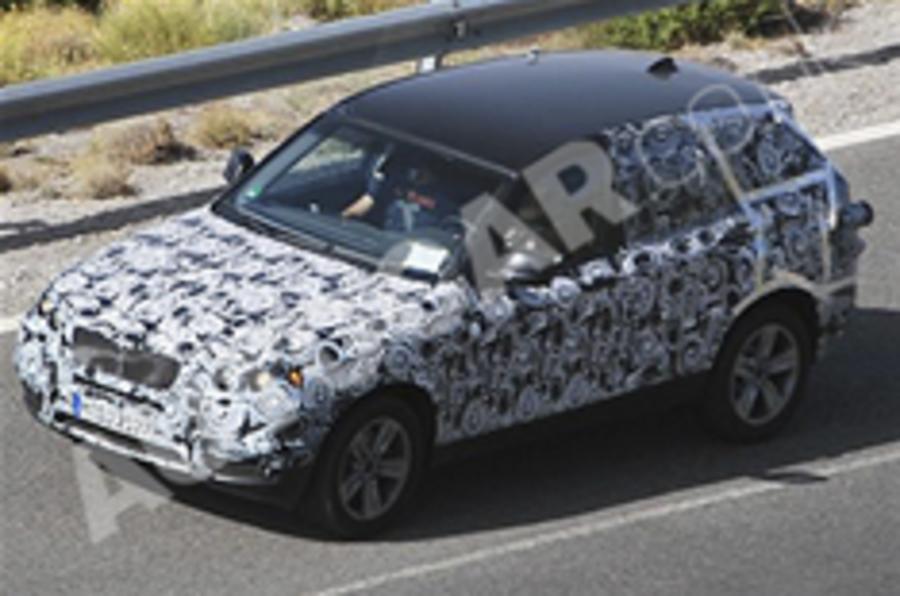 New BMW X3 spied