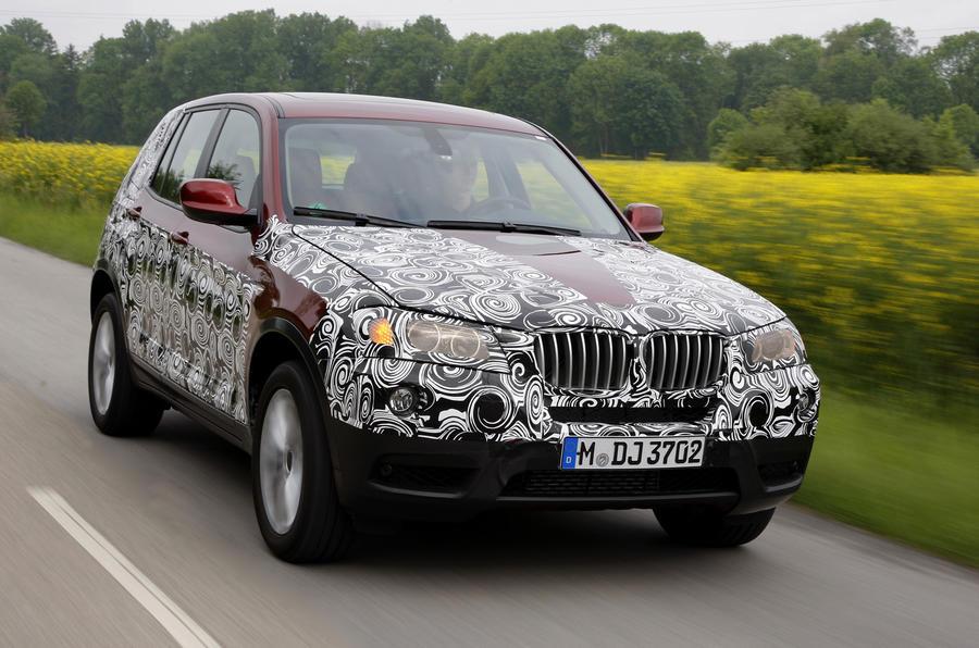 BMW X3 - first details
