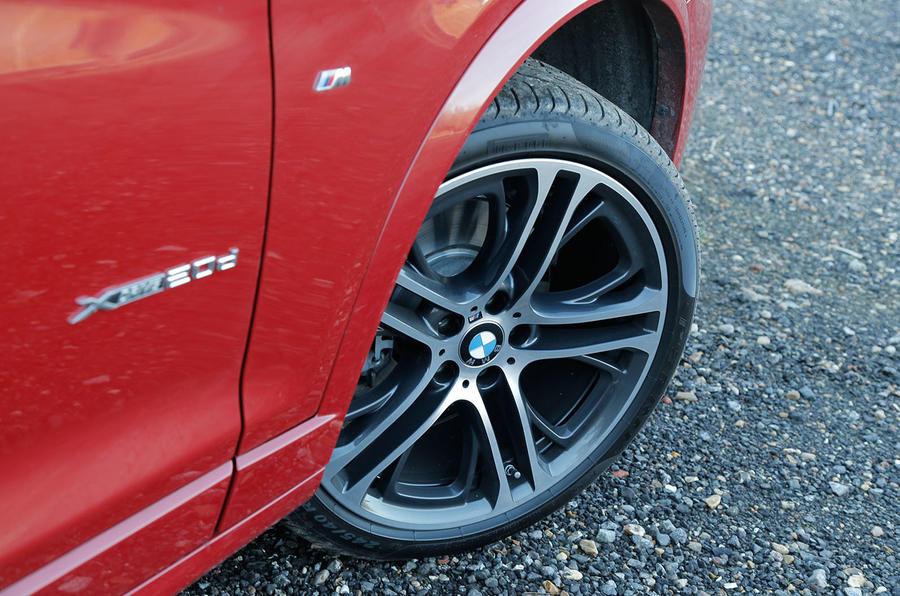 19in BMW X3 alloys