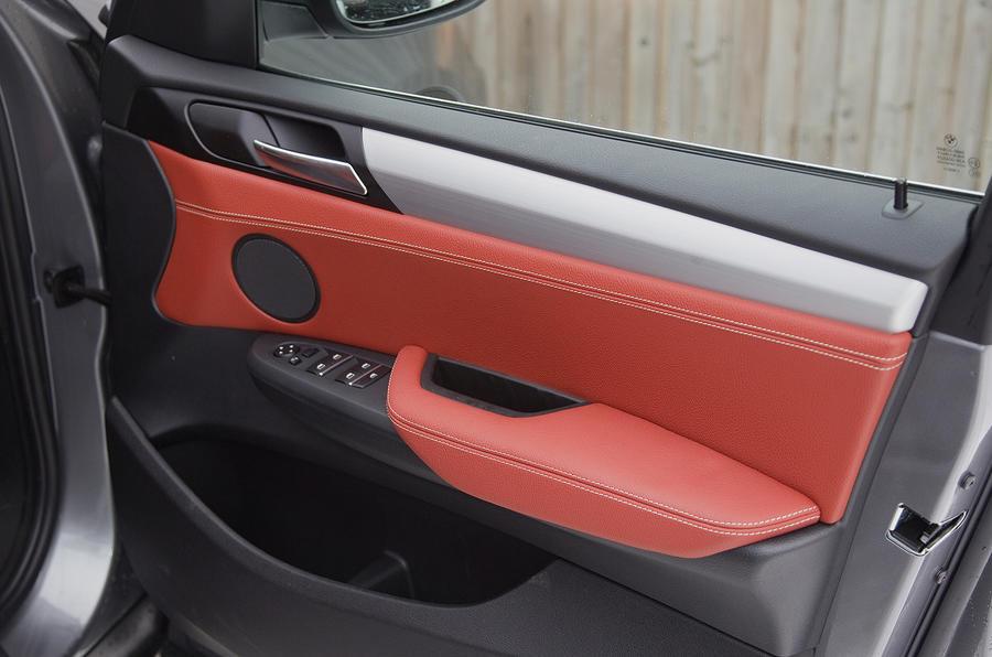 BMW X3 front door