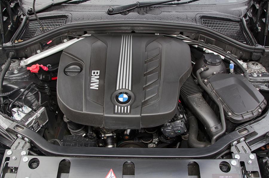 BMW X3 four-cylinder engine
