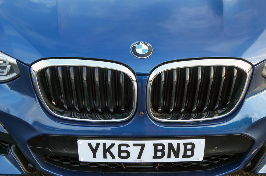 BMW X3 front kidney grille