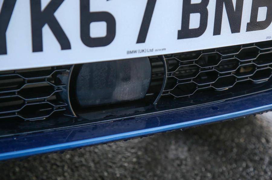 BMW X3 front safety sensor