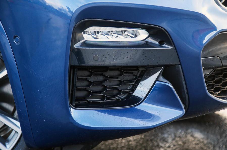 BMW X3 LED foglights