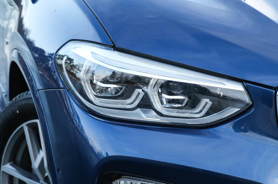 BMW X3 LED headlights