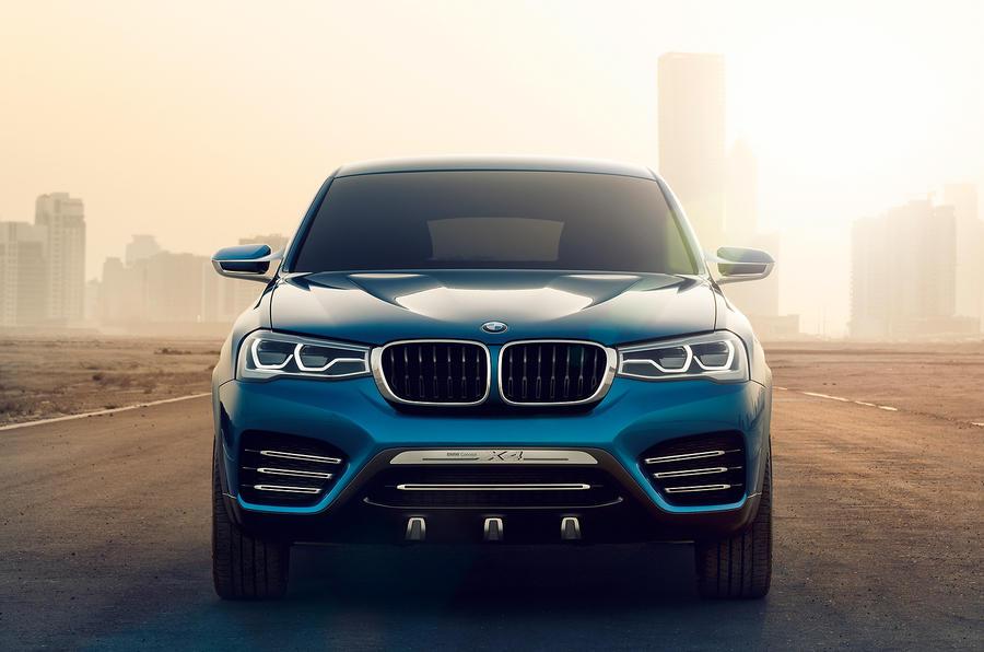 Shanghai motor show 2013: BMW Concept X4