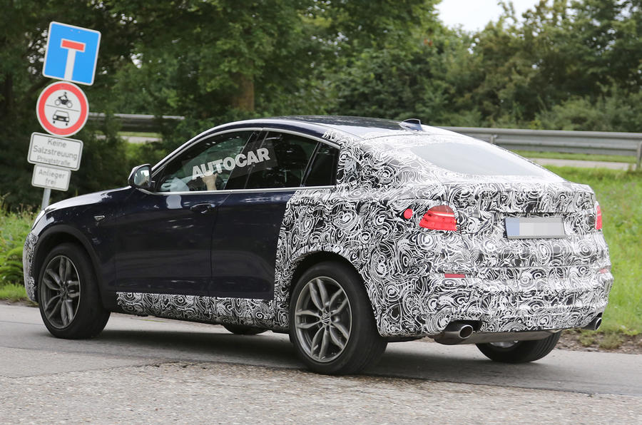 High-performance BMW X4 planned for 2016 launch