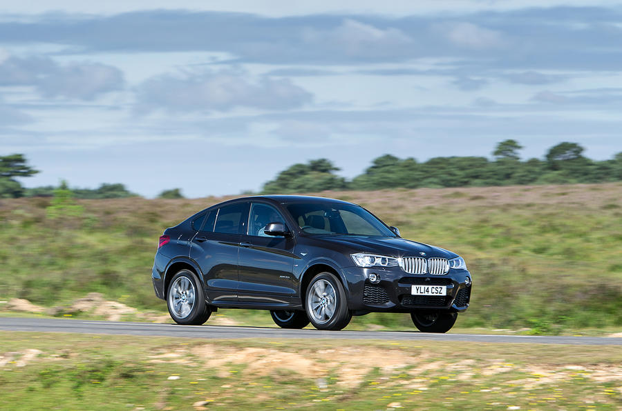 145mph BMW X4 UK first drive review