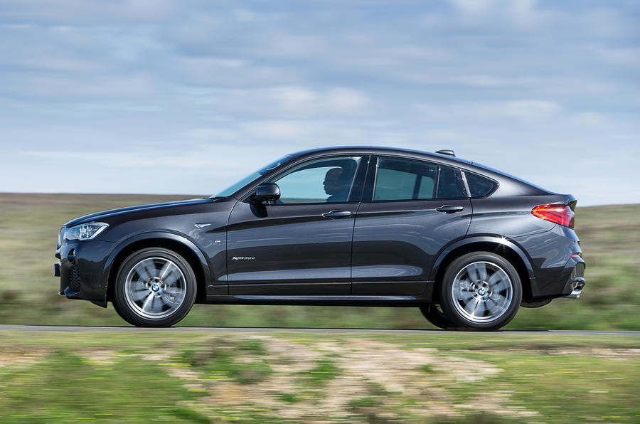 BMW X4 UK first drive review