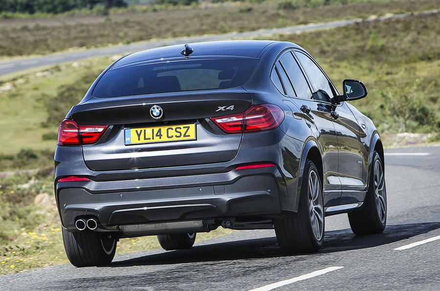 All new BMW X4 models are all-wheel drive as standard