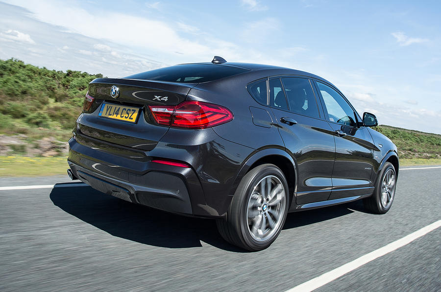 255bhp BMW X4 UK first drive review