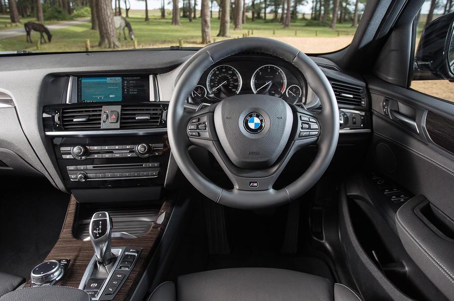... BMW X4 Interior ...