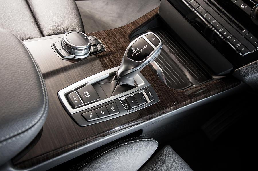BMW X4 magic wand gearstick