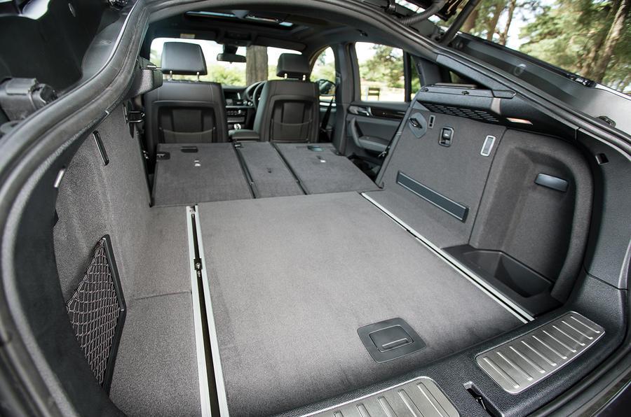 BMW X4's seat flexibility