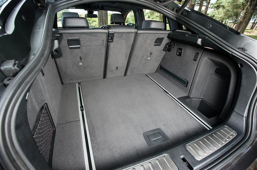 BMW X4 boot space