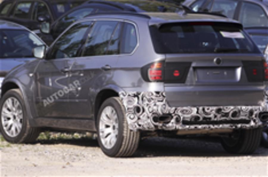 BMW X5 facelift spied