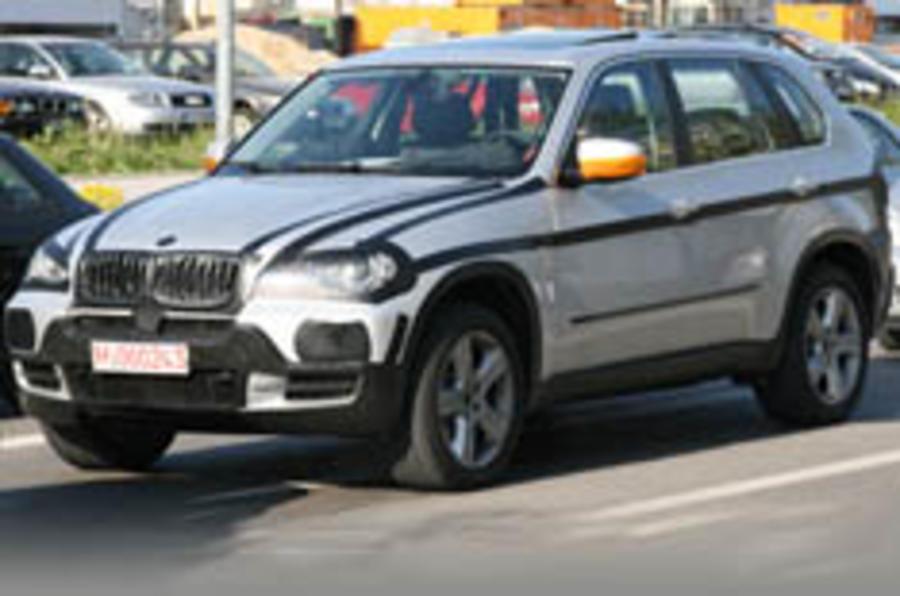 Next BMW<br> X5 spied