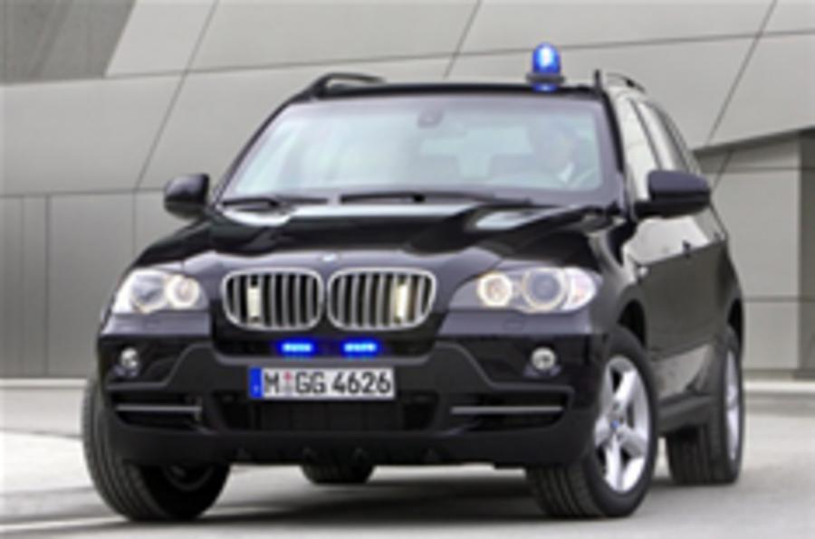 The bullet-resistant BMW X5