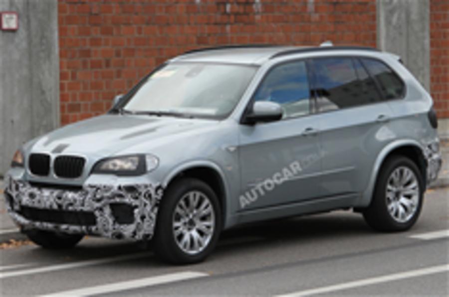 Next BMW X5 spied