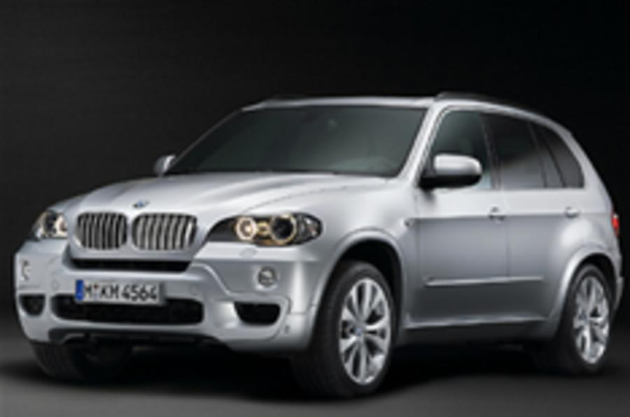 M Sport bling for top BMW X5