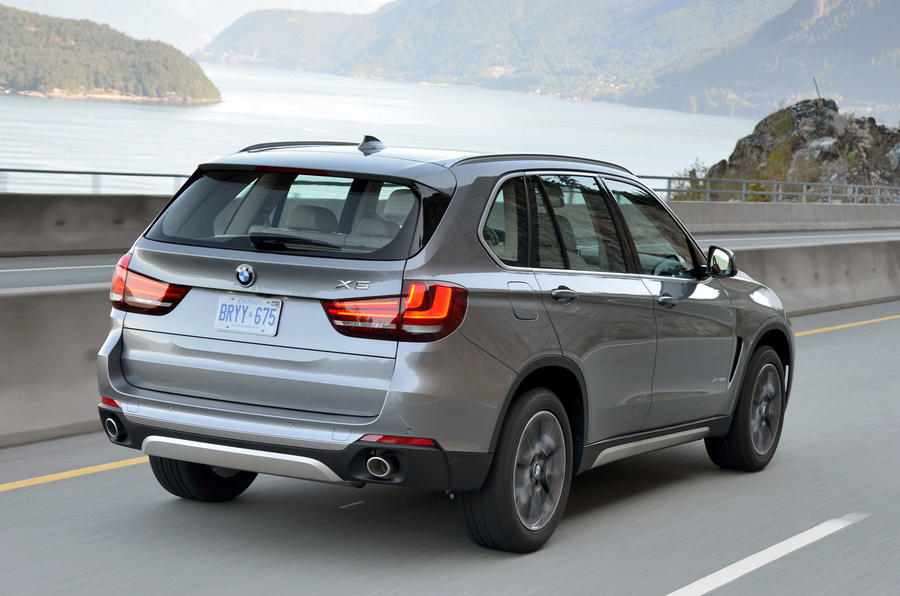 BMW X5 xDrive25d rear