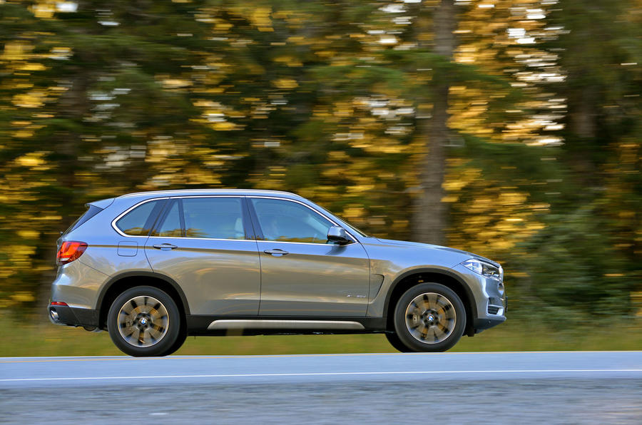BMW X5 xDrive25d side profile