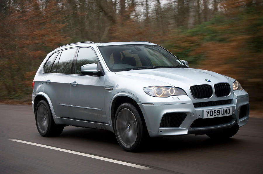 BMW X5 has active steering